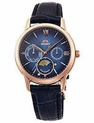 [Orient] ORIENT Classical SUN &amp  MOON Semi-skeleton Quantity limited watch Quartz Blue Gradien...