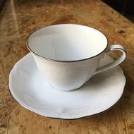 Noritake 日本骨瓷咖啡杯(金邊/銀邊)