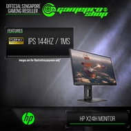 """HP X24iH FHD 144hz / IPS / 1MS 23.8"""" Gaming Monitor (3Y)"""