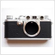 (BEAGLE) 真皮相機專用貼皮/相機蒙皮 Leica IIIf/IIIf自拍器版  - 黑/駝色(可訂製其他顏色)