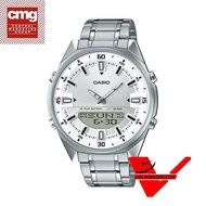 Veladeedee นาฬิกา  Casio Standard นาฬิกาข้อมือชาย สายสแตนเลส รุ่น AMW-830D-7AV (ประกันCMG)