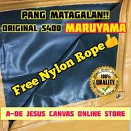 (6x10 ft) ORIGINAL MARUYAMA Tarpaulin PVC Cover Highly Durable LONA TRAPAL TOLDA