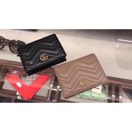 全新Gucci Marmont card case 馬夢卡包