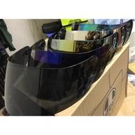 【素素】AGV k3 sv k3sv k3-sv k5 k5s k1 k3 sv 墨片 深墨片鏡片 電鍍 銀 金 藍 彩
