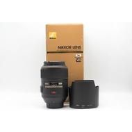 【高雄青蘋果3C】Nikon AF-S NIKKOR 105MM F2.8 G IF-ED VR MICRO#46854