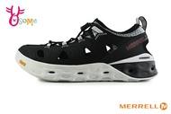 MERRELL TIDERISER SIEVE 成人男款 透氣速乾 登山 黃金大底 水陸兩棲 運動涼鞋 H8373#黑色 奧森