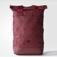 Adidas 3D Roll Top Backpack (Burgundy)