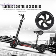 『wa』Electric Scooter Solid Rear Wheel Back Tire w/Wheel Hub for Kugoo S1 S2 S3