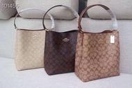 Coach กระเป๋าสะพาย ขนาด 8 นิ้ว กระเป๋าสะพายข้าง กระเป๋าหนัง กระเป๋าผ้า กระเป๋าแฟชั่น กระเป๋าผู้หญิง กระเป๋าถือ กระเป๋าอินเทรนด์ พร้อมส่ง