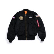 ALPHA MA-1-Flex 黑色MA1 飛行夾克 綠色MA1 藤原本舖 防風外套 美牌