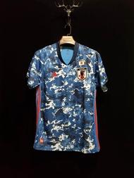 เสื้อฟุตบอลยูโรทีมชาติ ญีปุ่น ชุดเหย้า 2020/21 (ภาพถ่ายจากของจริง) Top Thai Quality football soccer jerseys shirts AAA