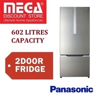 PANASONIC NR-BY608XSSG 602L 2 DOOR FRIDGE / FREE GIFT BY AGENT / LOCAL WARRANTY