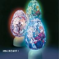 【預購】日本進口新上市!正版 迪士尼立體透明拼圖小夜燈 冰雪奇緣 80片【星野日本玩具】