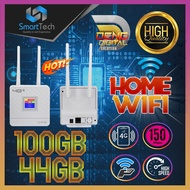 4G Home Wifi 150Mbps Hotspot Broadband WAN/LAN Modem With 44GB/100GB Hi-Speed Connectivity Data
