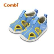 Combi 城市飛行_幼兒機能涼鞋_快意藍