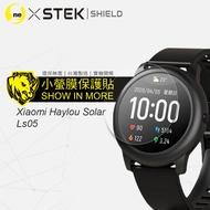 小米手錶 Haylou Solar『小螢膜』手錶貼膜 超值兩入組 滿版全膠螢幕保護貼超跑包膜頂級原料犀牛皮(一組2入)