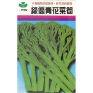 【大包裝蔬菜種子】青花菜筍~~~日本進口的新種蔬菜種子