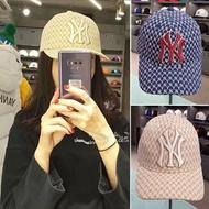 MLB新款 滿版 NY GUCCI X MLB 小logo 帽子 刺繡 MLB 帽子