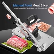 ASTP Xguli可調式手動冷凍食品切肉機牛肉羊肉片卷切肉刀120pcs / min