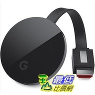 [美國直購] Google Chromecast Ultra 電視棒 4K UHD HDMI 電視棒 新版第三代