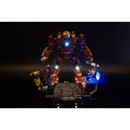 【WBS】樂光創意 Lego 76105 Hulkbuster 浩克毀滅者  樂高 專用 燈組