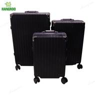 HANGROO WL กระเป๋าเดินทางอลูมิเนียม กระเป๋าเดินทางล้อลาก กระเป๋าเดินทาง กระเป๋าโครงอลูมิเนียม ขนาด 20 /24 /28 นิ้ว