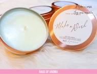 Make a wish soy wax candle