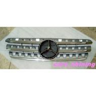 cars_shining 全新 賓士 W163 ML320 ML350 1997-2005 水箱罩 中網 銀色 精品