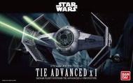 【鋼普拉】BANDAI 星際大戰 1/72 STAR WARS TIE ADVANCED X1 鈦先進戰機 黑武士