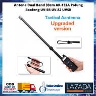[COD] Antena HT Jarak Jauh 1000Km Murah / Antena Ht Jarak Jauh / Antena Ht Baofeng / Antena Dual Band 33cm AR-152A Pofung Baofeng UV-5R UV-82 UV5R