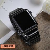 ใช้สายรัดApplewatch Iwatch5รุ่น6 AppleนาฬิกาSE2/3/4สแตนเลส44เซรามิค42 Chain 40mm38แบรนด์อินเทรนด์Seriesและชายผู้หญิงสแตนเลสใหม่1 Creative