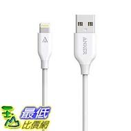 [106美國直購] Anker A8111021 充電線 傳輸線 PowerLine Lightning Cable (3ft) Apple MFi Certified