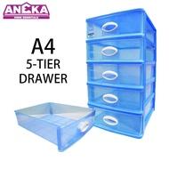 LAVA A4 Drawer 5 Tier Document Drawer Desk Drawer DW5925