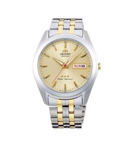 Orient RA-AB0030G19B Old School Automatic Japan Movt Gold Dial Stainless Steel Men's Watch