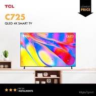 """2021 TCL C725 Series QLED 4K 50""""55""""65""""75"""" inchs Android 11 Smart TV HDR 10+ ONKYO Google tnG4"""