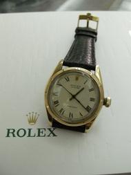 ROLEX 勞力士50年代罕見6426/ K鋼稀有指針面 玩家收藏 12/16已交誼