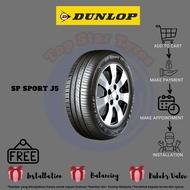 195/60R15 J5 Dunlop [ With Installation ]