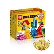 樂拼 42007 蓋房子創意積木盒 經典基本顆粒 零件補充包 /樂高相容 10696 10702