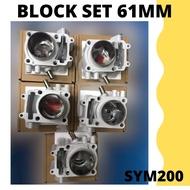 SYM 200 BLOCK 61MM-READY STOCK