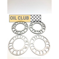 油品部 3mm 5mm 8mm 10mm 輪軸墊片 輪圈墊片 鋁圈墊片 輪軸墊片 輪距墊片 加寬墊片