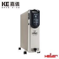 【KE嘉儀】HELLER 德國製 10 葉片電子式恆溫電暖爐KED-510T【三井3C】