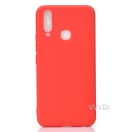 Vivo Y17 Case Vivo Y17 Silicone Soft TPU Phone Case Vivo Y17 Y 17 VivoY17 V1902 Solid color Case Back Cover 6.35 inch