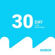 KKBOX 1個月序號卡