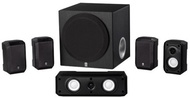 (Yamaha) Yamaha NS-SP1800BL 5.1-Channel Home Theater Speaker System (110V only)
