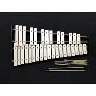 二手梅苓樂器_32鍵鐵琴(附背包、琴棒與譜架)