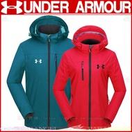 【帕天使】 Under Armour 安德瑪 UA 衝鋒衣 風衣 防風外套 大尺碼外套 棉服 防寒保暖上衣 男女同款風衣