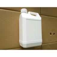 化工桶-HDPE-5公升-5000ml-白色-透明視窗-油桶-耐酸鹼-酒精桶