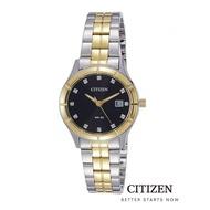 CITIZEN EU6044-51E Dual Tone Lady Watch Quartz