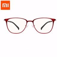 [二手] 紅色 TS防藍光眼鏡 米家定制 小米 抗藍光眼鏡 保護眼鏡 藍光眼鏡 黃色鏡片 UV400 佩戴舒適