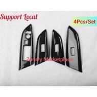 Honda Shuttle Jazz Fit GK3 GK5 Carbon Fibre Door Panel Control Cover (4 pieces)